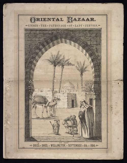 """""""Oriental Bazaar"""", Wellington, New Zealand,1884"""