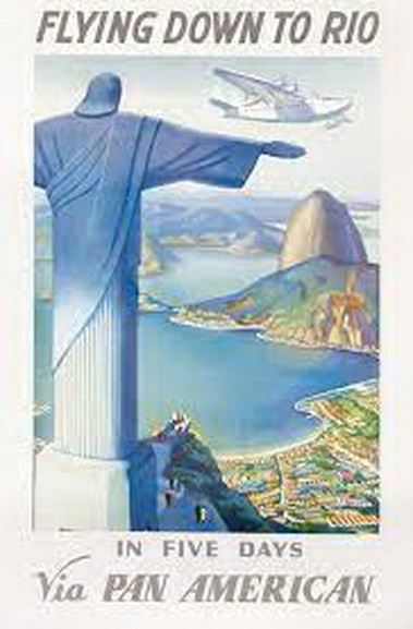 Fly down to Rio in only 5 days,1930s