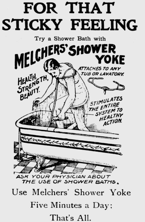 Shower yoke