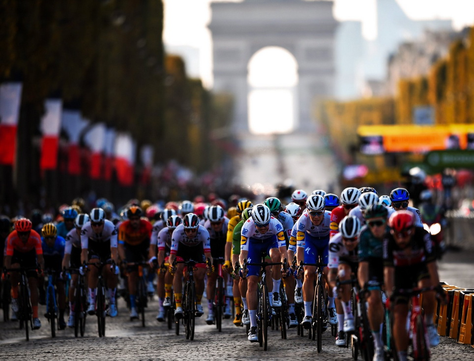 Tour de France, Paris,2021
