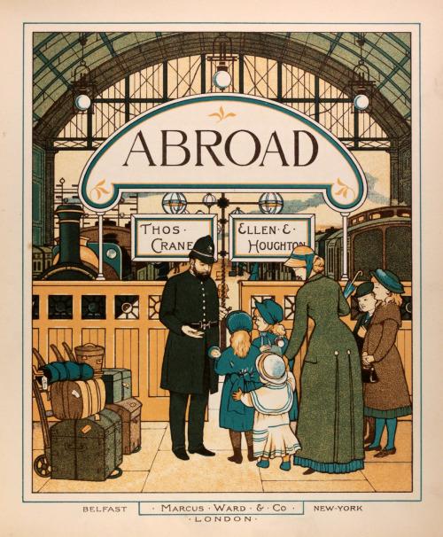 Trains abroad, London,1882