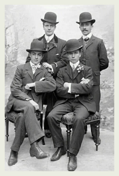 Four men withhats