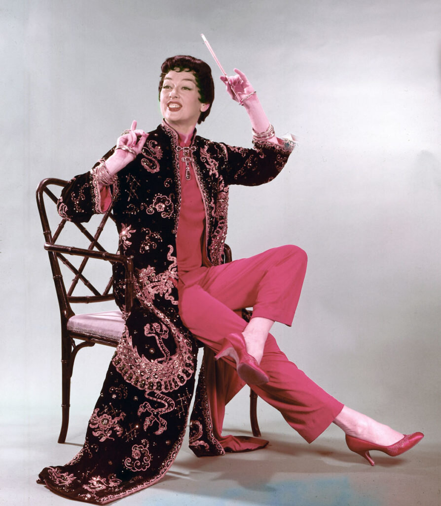 Rosalind Russell as Auntie Mame,1958