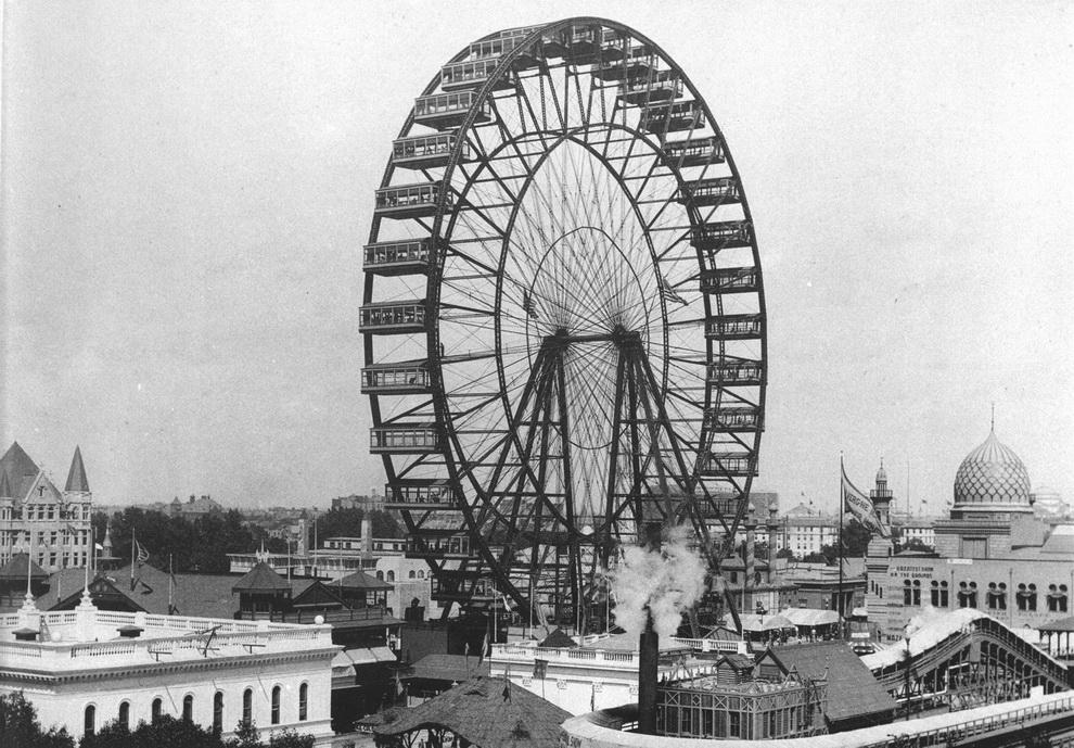 Ferris Wheel, Chicago World's Fair,1893