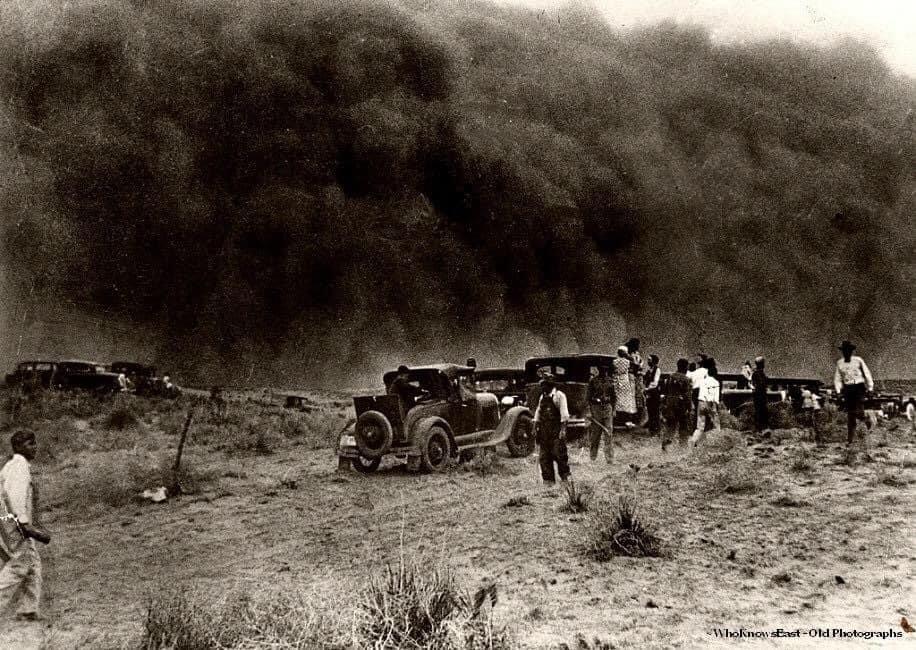Dust Storm, Oklahoma,1930s