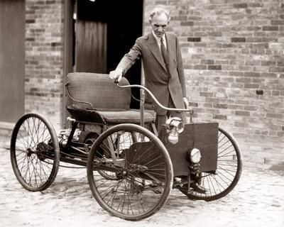 Henry Ford and his firstcar