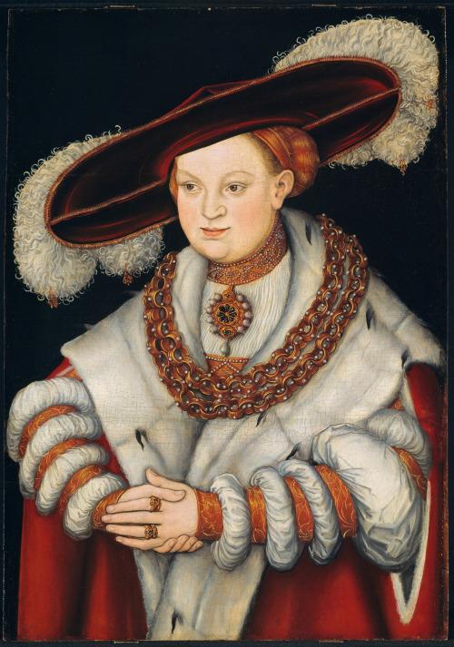 Portrait of Magdalena ofSaxony
