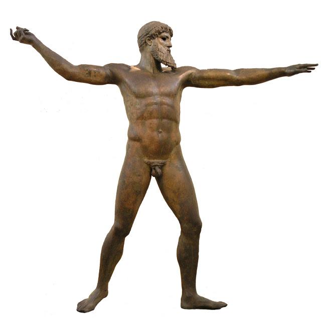 The Artemision Bronze Statue ofPoseidon