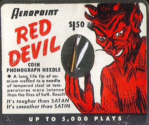 Red Devil phonographneedle