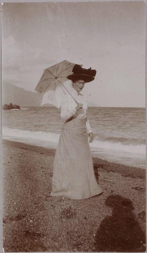 Russian Empress at the beach inCrimea