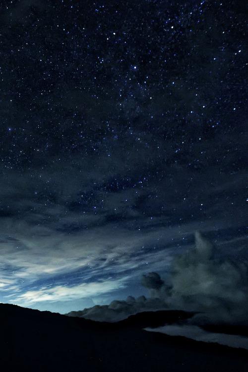 Night sky in themountains