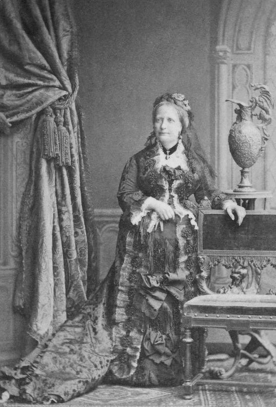 Brazilian Empress Teresa Cristina,1887