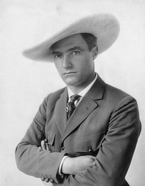 Tom Mix, silent action film actor,1920s