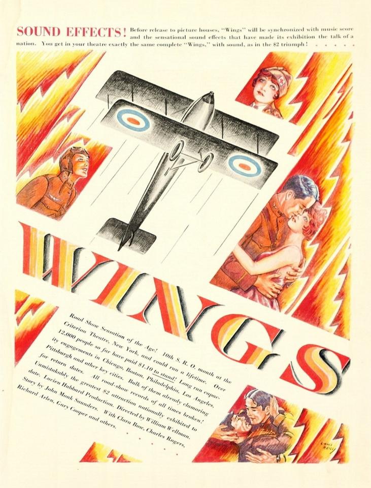 Wings, 1927