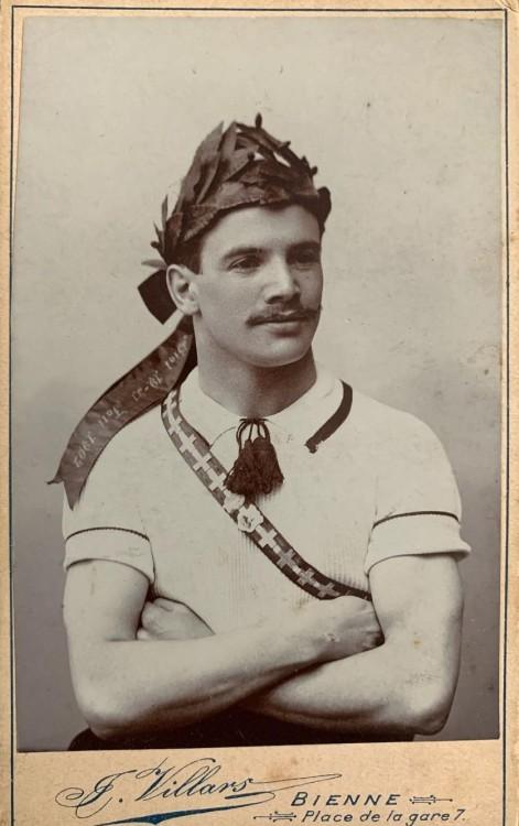 Vintage Swiss Athlete
