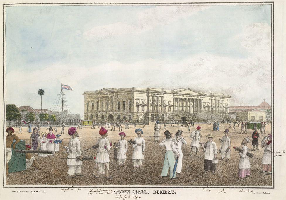 Bombay (Mumbai) during the British Colonial Era,1800s