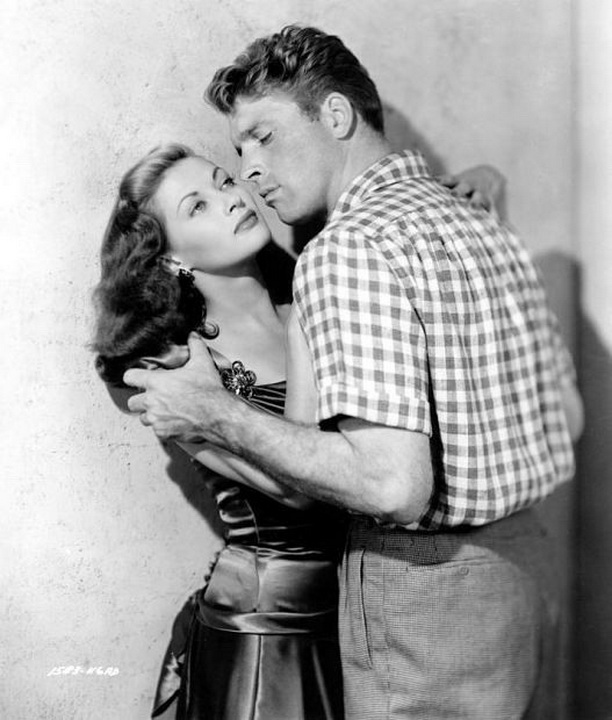 "Burt Lancaster and Yvonne De Carlo in ""Criss Cross"",1949"