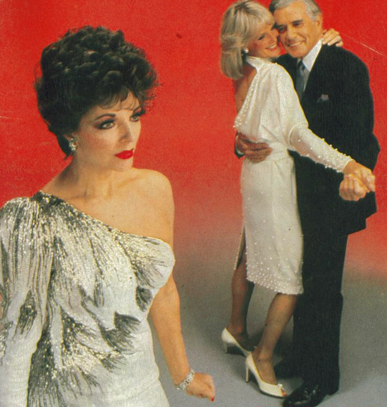Dynasty (1980s), the high water mark for high camp, starring JoanCollins
