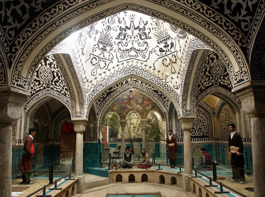 Haj Aqa Torab Bath, Nahavand,Iran