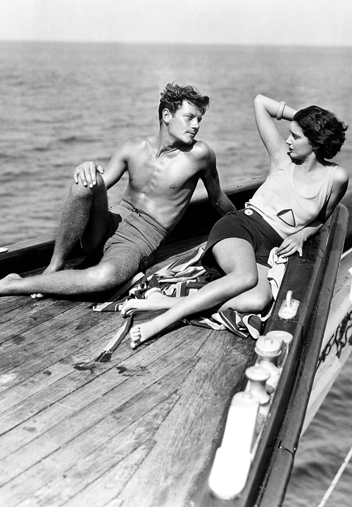 """Joel McCrea and Kay Francis in """"Girls About Town"""",1931"""