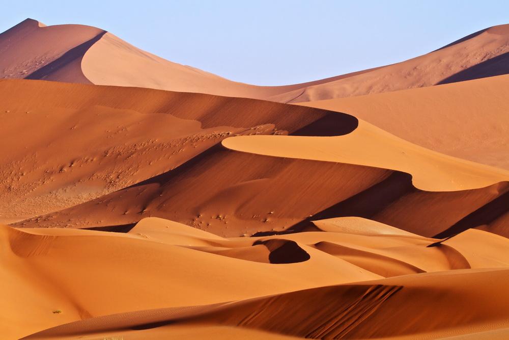 Sand dunes inNamibia