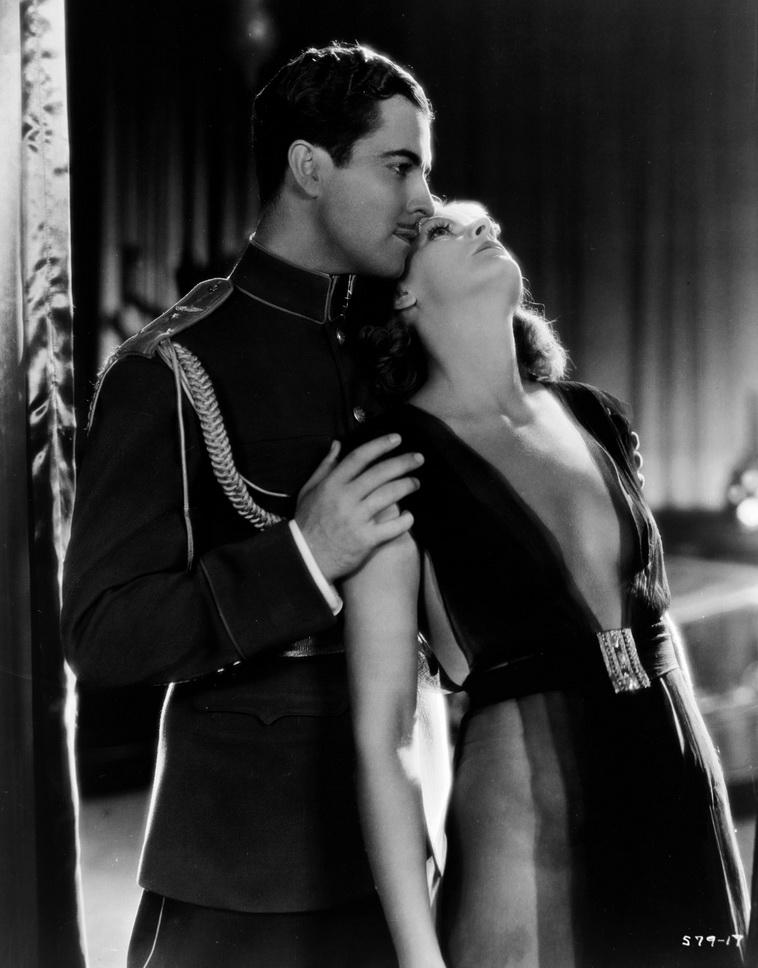 "Ramon Novarro and Greta Garbo in ""MataHari"""
