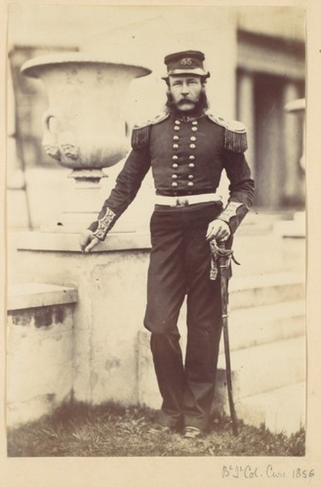 British officer, 1850s