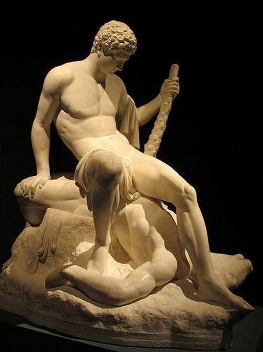 """Theseus and the Minotaur"" by Antonio Canova,1782"