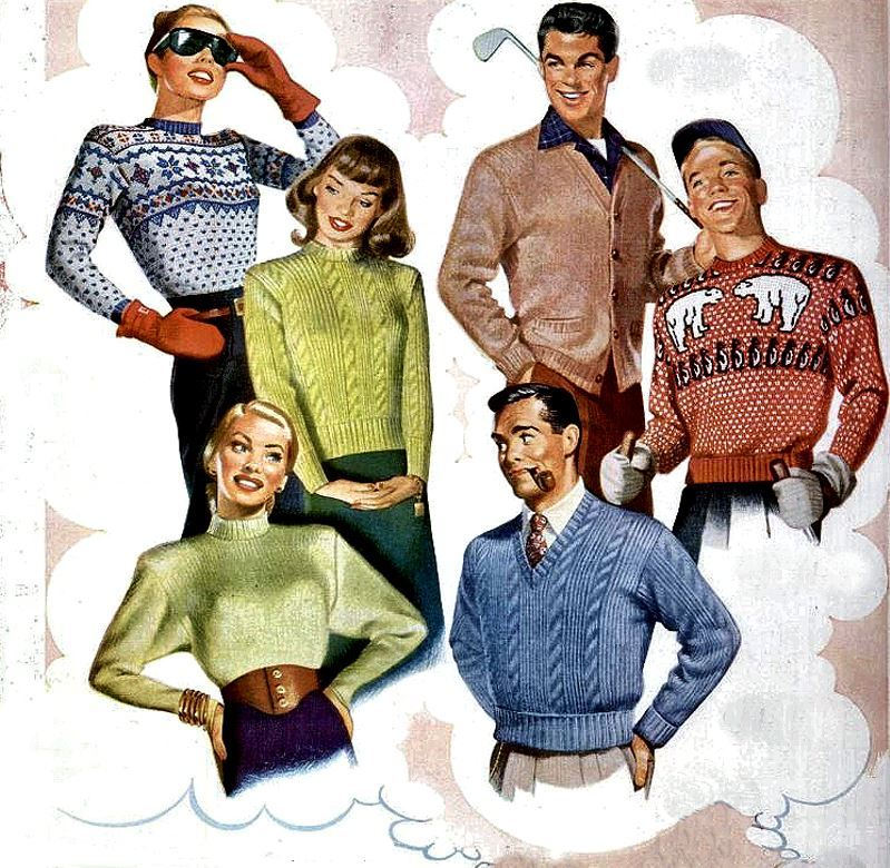 Sweaters, 1946