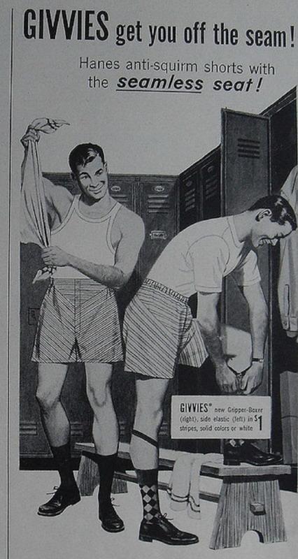 Anti-Squirm Shorts