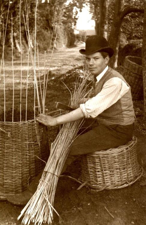 Basket maker, UK,1800s