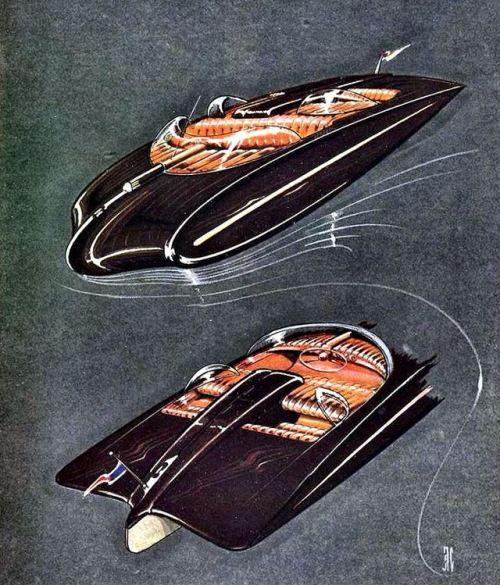 """The Windbreaker"", ocean going pleasure boat,1947"