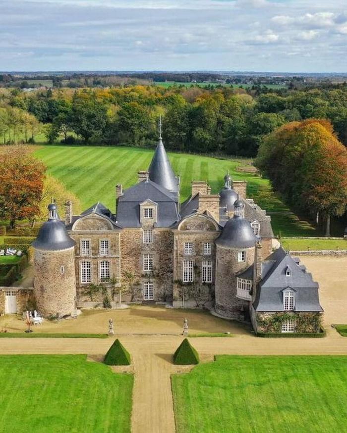 Château de la Bourbansais, Pleugueneuc, Ille-et-Vilaine, France