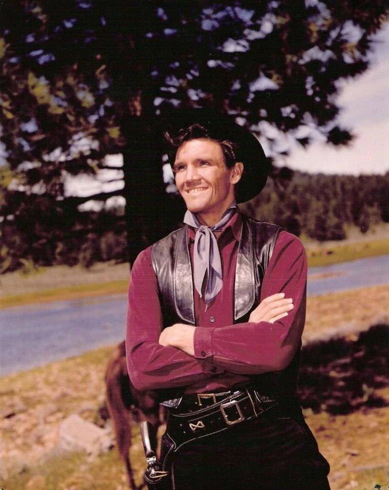 "David Canary in the 1950's western TV show ""Bonanza"""