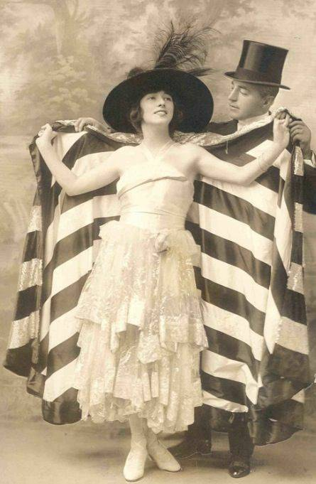 Evelyn Nesbitt and Jack Clifford,1917