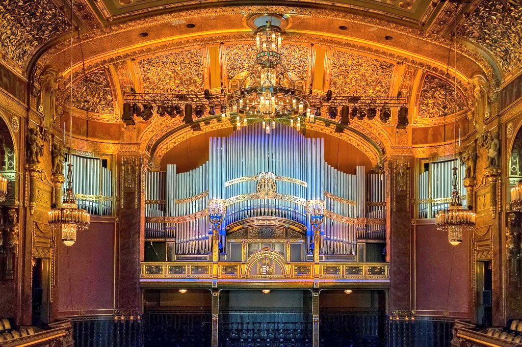 The Great Concert Hall of the Franz Liszt Academy of Music, Budapest,Hungary