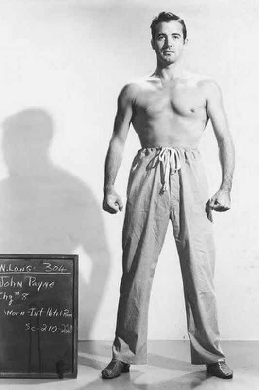 Actor John Payne,1940s