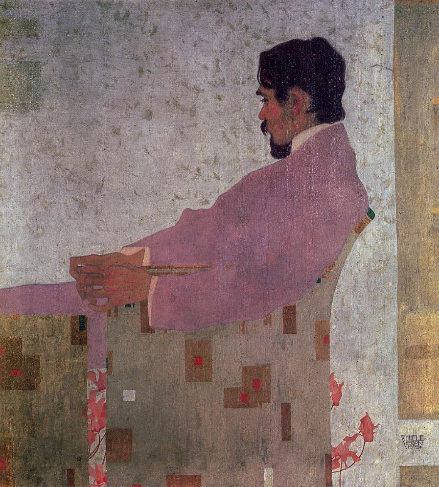 Portrait of the Painter Anton Peschka,1909