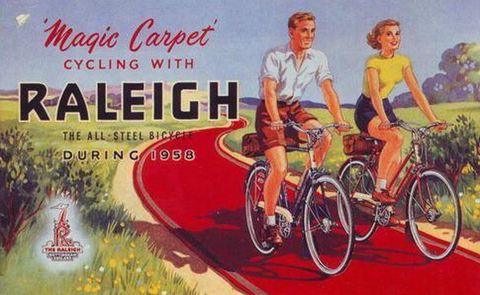 Raleigh Bicycles, 1958