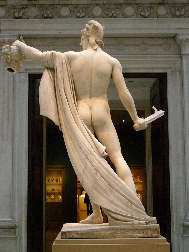 Perseus with the head of Medusa by AntonioCanova